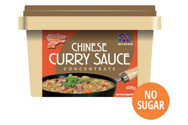 Goldfish Chinese Curry Sauce