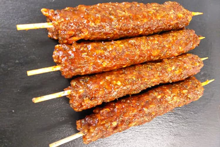 Lamb and Mint Kofta Kebabs