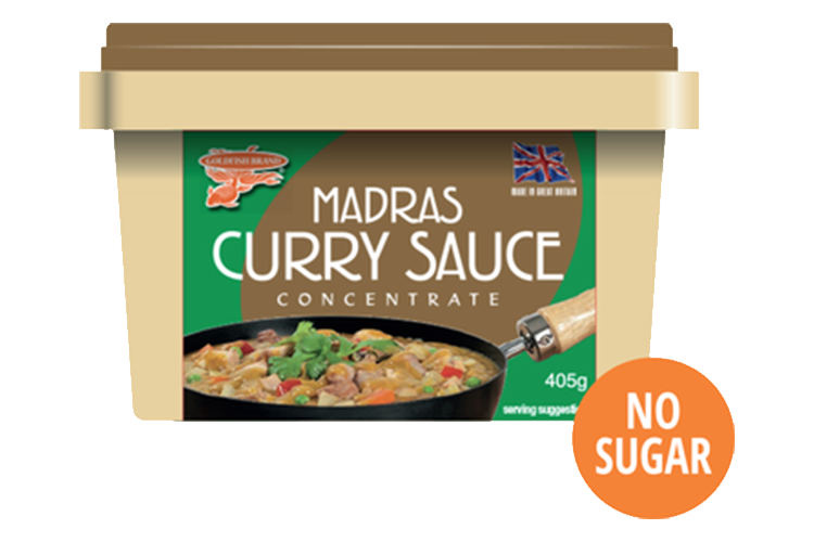 Goldfish Madras Curry Sauce